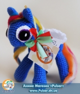 "М`яка іграшка ""Amigurumi"" ""my little pony"" - Rainbow Dash"