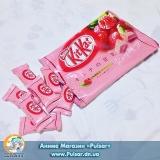 """Шоколадный батончик """"Kitkat""""   Малина (Япония) УПАКОВКА 12 шт"""