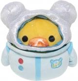 """Оригінальна м'яка іграшка «Rilakkuma San-X Licensed Kiiroitori - Space Plush Doll - 7""""»"""