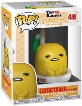Виниловая фигурка «Funko Pop! Sanrio: GudeXNissin - Gudetama in Boat»