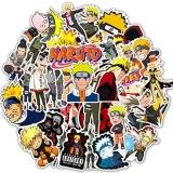 """Набір пластикових стікерів """"Naruto"""""""