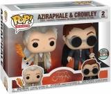 Вінілова фігурка «Funko POP! TV Good Omens Aziraphale & Crowley Specialty Series Figures, 2-Pack»