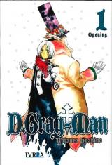 Манга на английском языке «D. Gray Man 01»