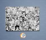 Большой скетчбук А4 (альбом)  «Ahegao» Ver. 01