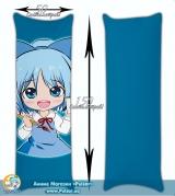 Подушка дакимакура  с вашим изображением 150*50 см