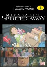 Манга на английском языке «Spirited Away, Vol. 1»