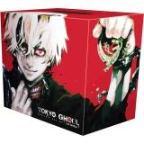 Манга на английском языке «Tokyo Ghoul Complete Box Set: Includes vols. 1-14 with premium»