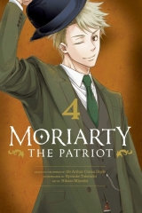 Манга на английском языке «Moriarty the Patriot, Vol. 4»