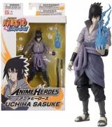 Оригинальная аниме фигурка Bandai 36902 Anime Heroes-Naruto 15cm Uchiha Sasuke-Action Figures