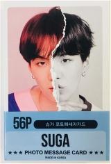 Официальные фотокарточки BTS Suga Solo Photocards 56pcs