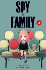 Манга на английском языке «Spy x Family, Vol. 2»
