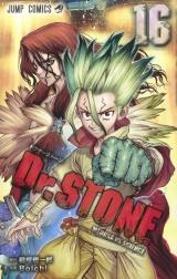 Лицензионная манга на японском языке «Shueisha Jump Comics Boichi Dr.STONE 16»