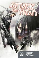 Манга на англійській мові «Attack on Titan» vol.33