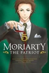 Манга на англійській мові «Moriarty the Patriot» vol.5