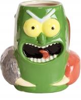 Фірмова скульптурна чашка  Pickle Rick Mug Standard