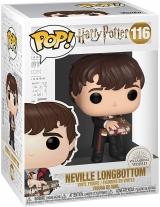 Виниловая фигурка Funko Pop! Harry Potter: Harry Potter - Neville with Monster Book