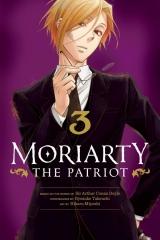 Манга на англійській мові «Moriarty the Patriot, Vol. 3»