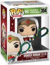 Вінілова фігурка «Funko Pop! DC Heroes: DC Holiday - Wonder Woman with String Light Lasso Vinyl Figure»