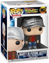 Виниловая фигурка Funko Pop! Movies: Back to The Future - Marty in Future Outfit
