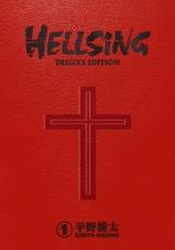 Манга на английском языке «Hellsing Deluxe Volume 1»