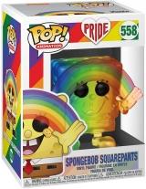 Виниловая фигурка Funko Pop! Animation: Pride 2020 - Spongebob (Rainbow)