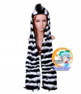 Зверошапка (SpiritHood) модель Cootie Zebra