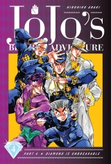 Манга на английском языке «JoJo's Bizarre Adventure: Part 4--Diamond Is Unbreakable, Vol. 4»