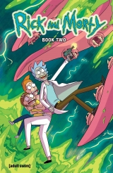 Комикс на английском языке Rick and Morty Book Two: Deluxe Edition Hardcover  [ USA IMPORT ]
