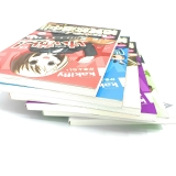 Лицензионная манга на японском языке «Houbunsha Manga Time KR Comics Kakifly K! Complete 4 Volume + High School + College Set»  6 шт