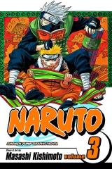 Манга на английском языке «Naruto, Vol. 3: Dreams»