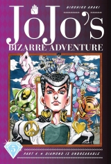 Манга на английском языке «JoJo's Bizarre Adventure: Part 4--Diamond Is Unbreakable, Vol. 5