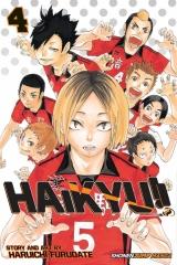 Манга на англійській мові «Haikyu!!» vol.4