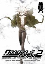Манга на английском языке «Danganronpa 2: Ultimate Luck and Hope and Despair Volume 3»