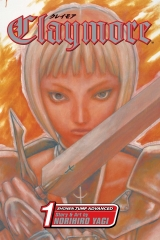 Манга на английском языке «Claymore, Vol. 1»