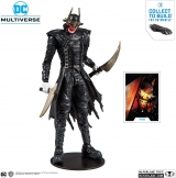 Оригінальна sci-fi фігурка McFarlane Toys DC Multiverse Batman Who Laughs Action Figure with Build-A Rebirth Batmobile (Piece 3)