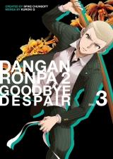 Манга на английском языке «Danganronpa 2: Goodbye Despair Volume 3»