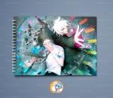 Большой скетчбук А4 (альбом)  «Danganronpa» Ver. 01