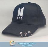 Кепка (бейсболка) K-POP Три кільця +BTS варіант 4