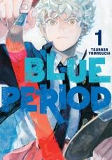 Манга на английском языке «Blue Period 1»