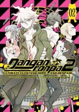 Манга на английском языке «Danganronpa 2: Ultimate Luck and Hope and Despair Volume 2»
