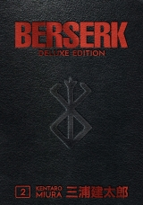 Манга на английском языке «Berserk Deluxe Volume 2»