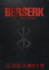 Манга на английском языке «Berserk Deluxe Volume 3»
