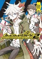 Манга на английском языке «Danganronpa 2: Ultimate Luck and Hope and Despair Volume 1»
