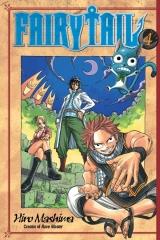 Манга на англійській мові «FAIRY TAIL 4»
