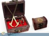 Подарочный набор Assassin's Creed  Кулон + Кольцо