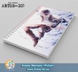 Скетчбук ( sketchbook) на пружине 80 листов Noragami tape 2