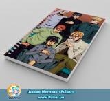 Скетчбук ( sketchbook) на пружине 80 листов JoJo's Bizarre Adventure tape 14