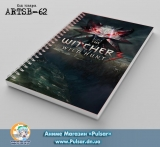 Скетчбук ( sketchbook) на пружине 80 листов Witcher