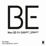 Официальный CD «BTS Bangtan Boys - BE»