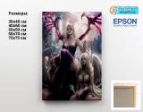Картина ( натуральный холст ) World of Warcraft tape 05